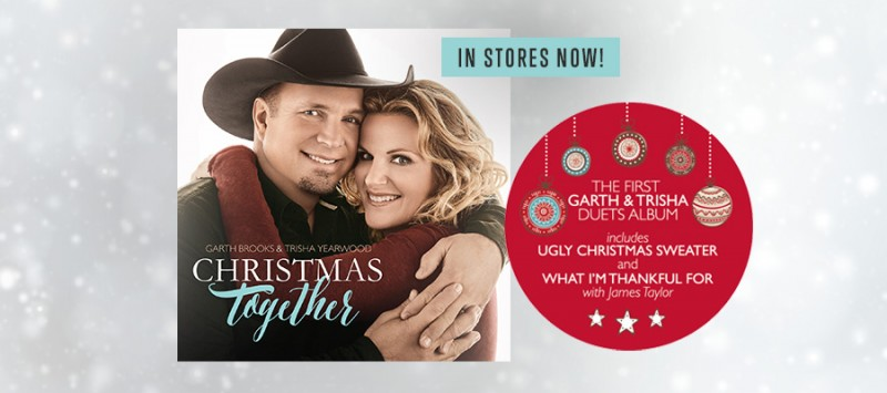 GARTH & TRISHA CHRISTMAS ALBUM RELEASED TODAY | Garth Brooks | The ...