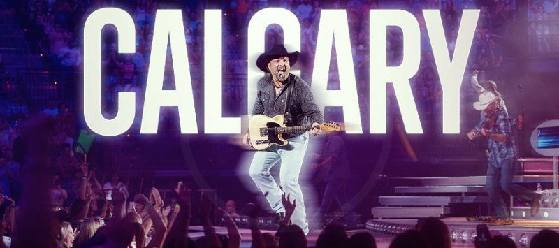 GARTH BREAKS CALGARY RECORD IN 37 MINUTES