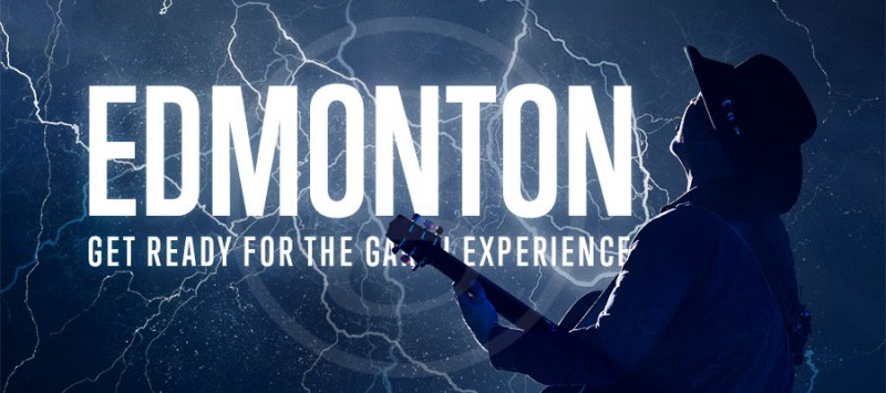 GARTH IS COMING TO EDMONTON!