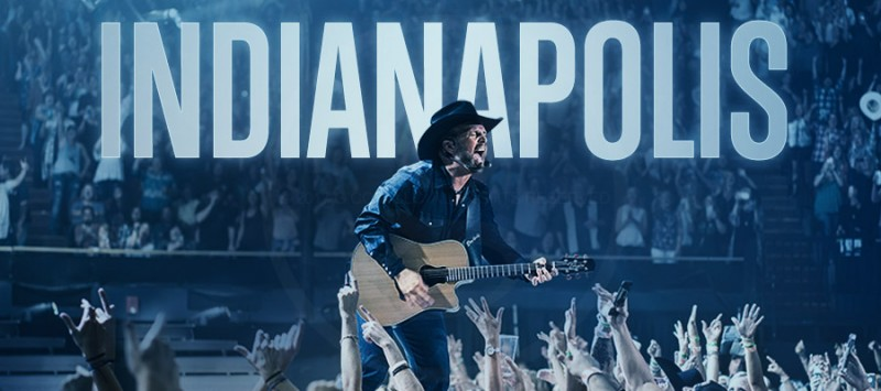 GARTH BROOKS BREAKS HIS INDIANAPOLIS RECORD