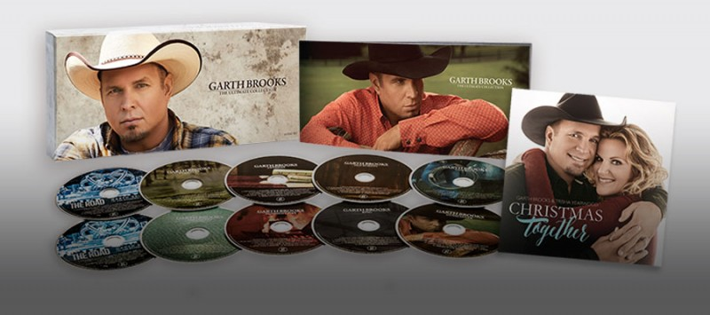 GARTH's BOXED SET MAKES TARGET HISTORY