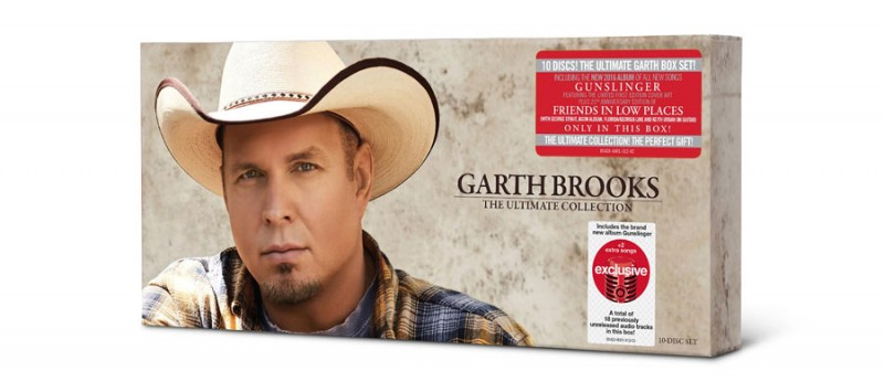 Garth reveals tracks for 10-disc target set