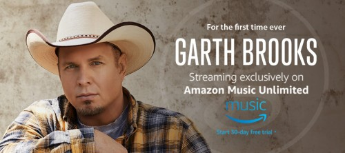 FOR THE FIRST TIME EVER…GARTH IS STREAMING!