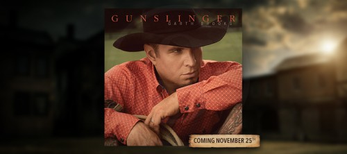 GARTH REVEALS NEW ALBUM COVER TO FANS ON #STUDIO G
