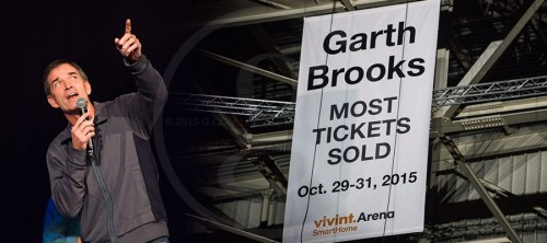 GARTH SETS RECORD IN SALT LAKE CITY