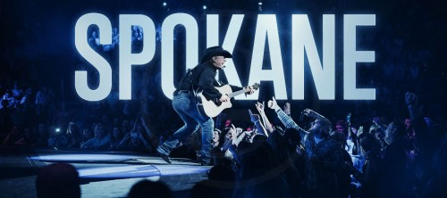 GARTH BROOKS HAS BROKEN HIS SPOKANE SALES RECORD
