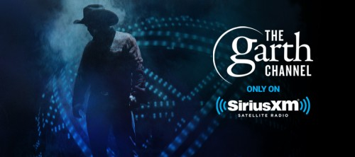 GARTH LAUNCHES EXCLUSIVE SIRIUS XM CHANNEL!